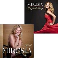 Mirusia - my favorite things & home (fan-pack 8)  2CD