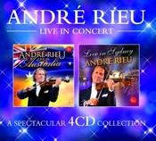 André Rieu - live in concert (tour edition) [Austr. import] 4CD